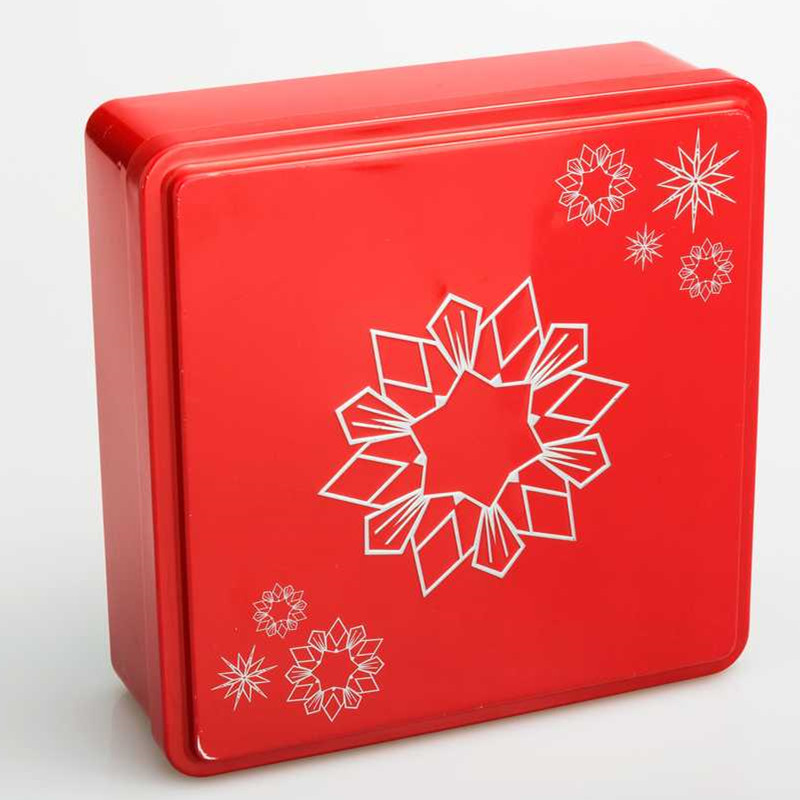 Tin Box for Cookies  DR0068A-01   190x170x45